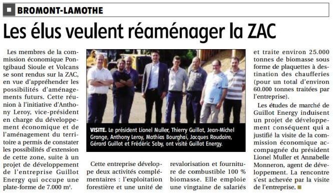 Article ZAC bromont