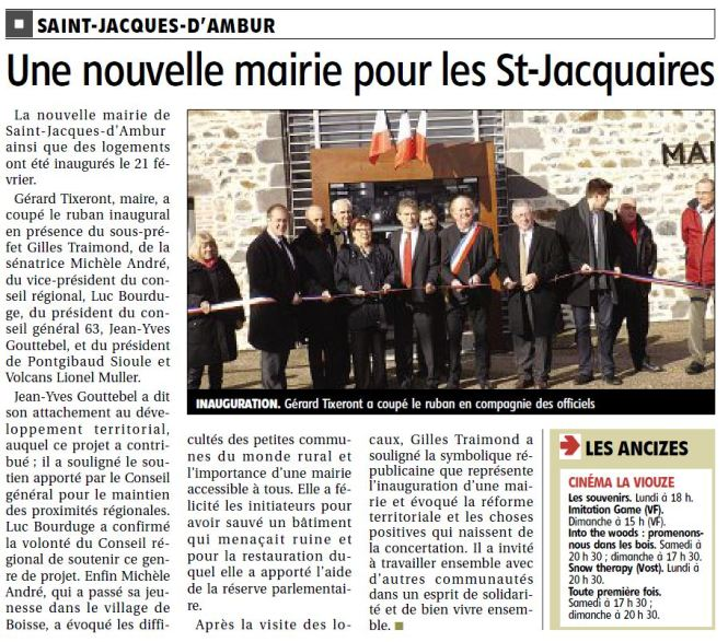 Mairie St Jacques